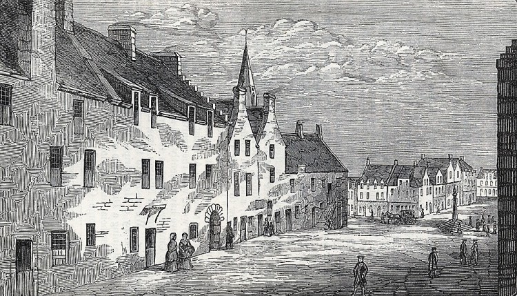 the Rotten-row in Glasgow, circa 1570