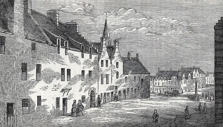 the Rotten-row in Glasgow, circa 1570