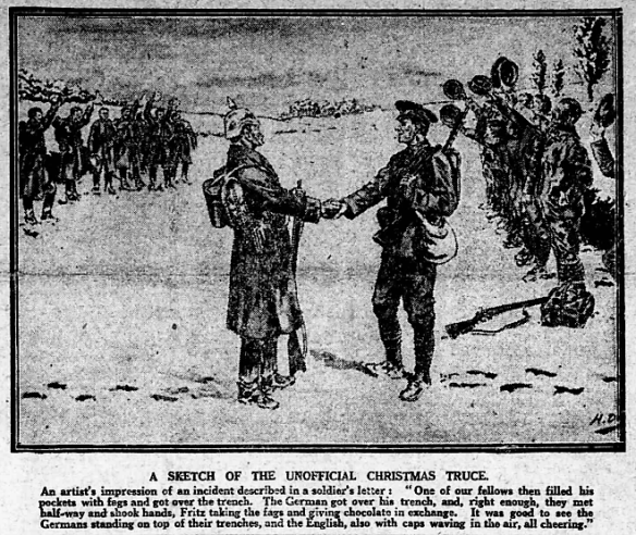 Christmas Truce Of 1914.An Investigation Into The Christmas Truce Of 1914