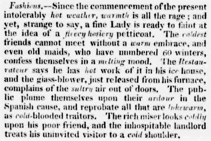 cold-shoulder-in-the-chester-chronicle-cheshire-22-july-1808