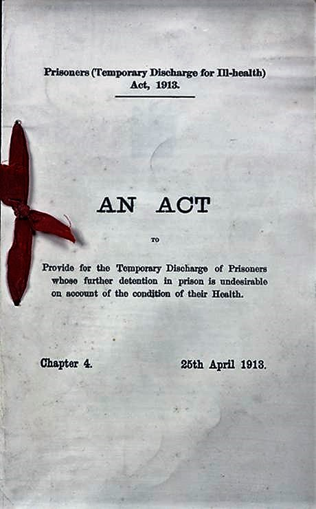 prisoners-temporary-discharge-for-ill-health-act-1913