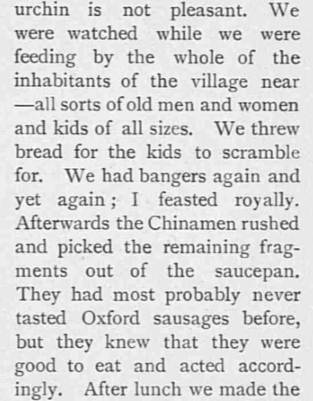 banger - Tatler - 27 July 1904