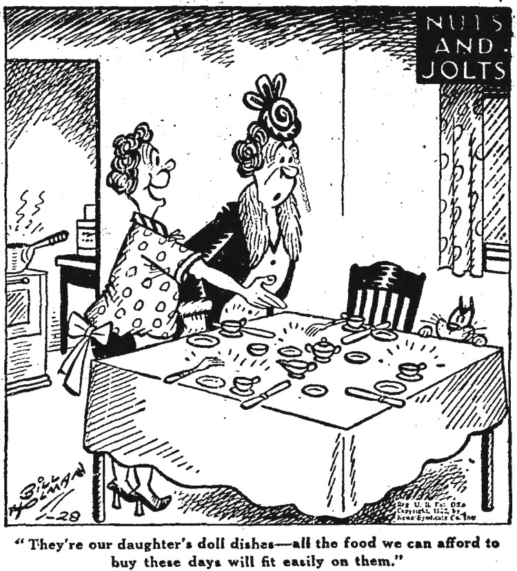 cartoon by Bill Holman - Chicago Daily Tribune- 28 January 1952