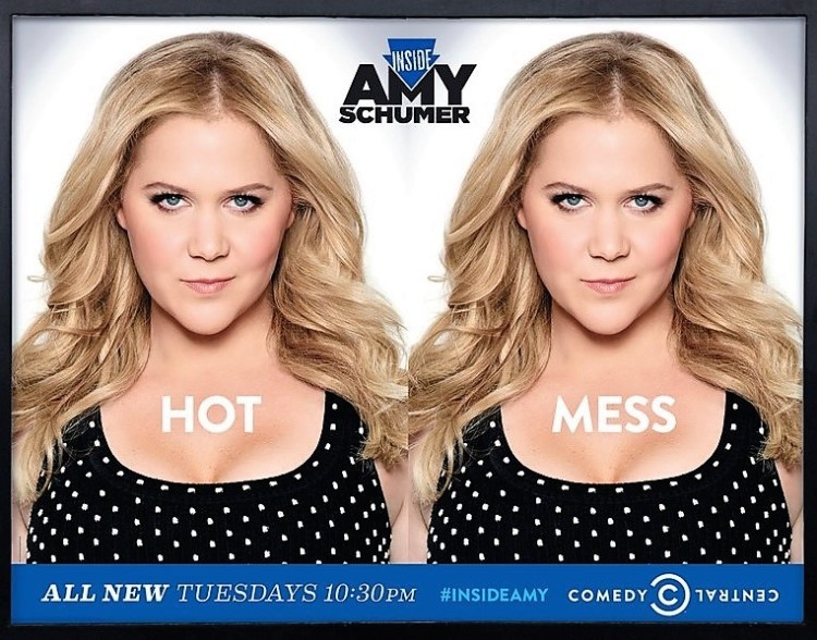 hot mess - ad for Inside Amy Schumer (2014)