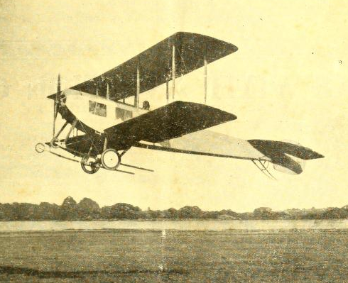 Sopwith biplane - The Aeroplane - 3 July 1913