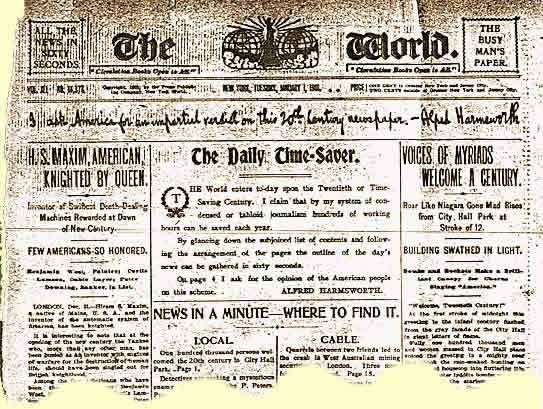 The World - 1st January 1901