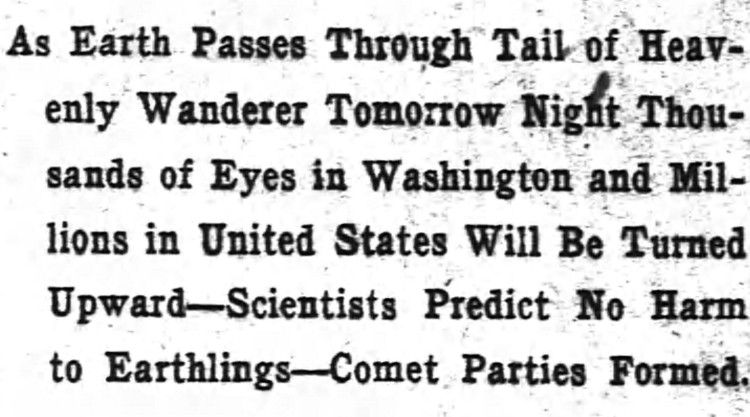 earthling - The Washington Post - 17 May 1910