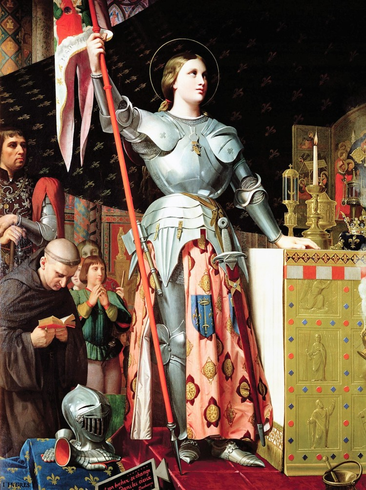 Ingres - Jeanne d'Arc au sacre du roi Charles VII