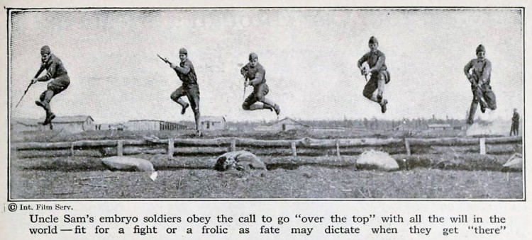 over the top - Popular Science Monthly - June 1918