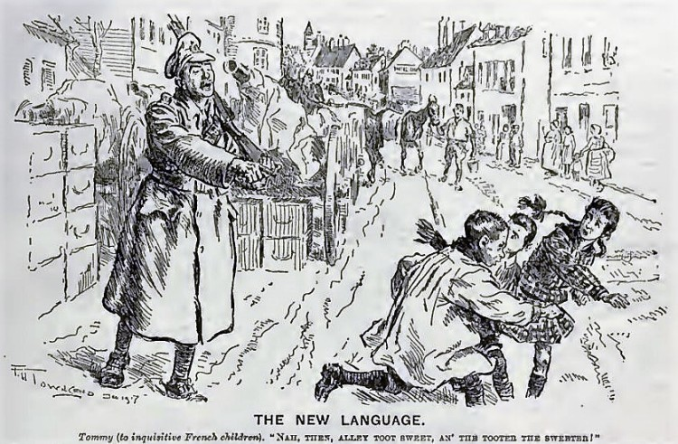 the tooter the sweeter - Punch, or the London Charivari - 5 December 1917