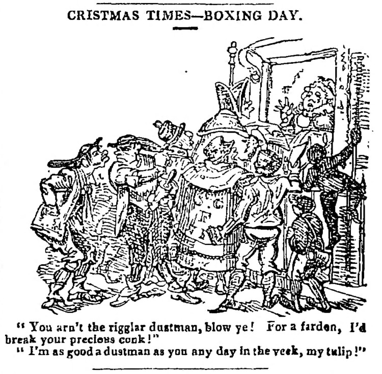 Boxing Day - The Observer - 20 July 1828