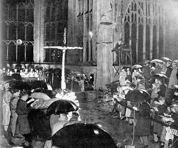 Coventry Cathedral - The Sphere - 23 November 1946