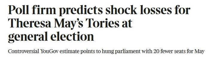 hung parliament - The Times - 31 May 2017