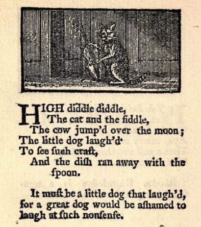 over the moon - Mother Goose_s Melody - 1791
