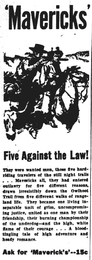 owlhoot - Reading Times - 26 July 1934