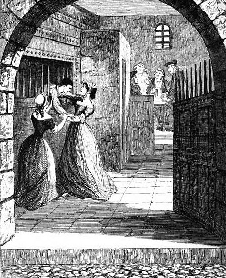 Jack Sheppard escaping from the condemned hold in Newgate - Bentley_s Miscellany - September 1839