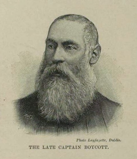 Captain Boycott - Illustrated London News - 10 July 1897