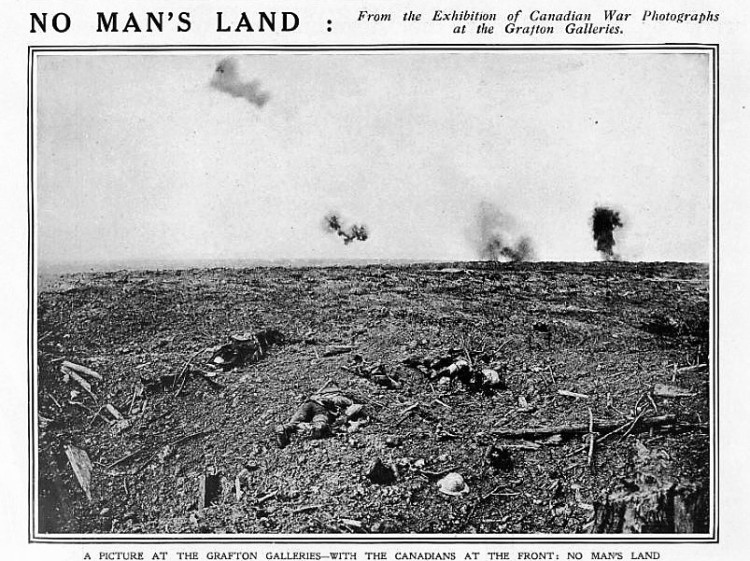 no man's land - The Sphere - 9 December 1916