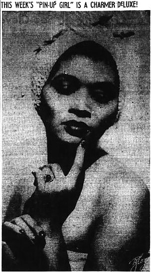 pin-up girl - Pittsburgh Courier (Pennsylvania) - 5 June 1943