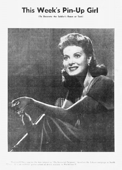 pin-up girl - St. Petersburg Times (Florida) - 14 February 1943