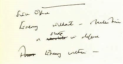 the enemy within - Margaret Thatcher_s handwritten notes for the speech delivered on 19 July 1984 (1)