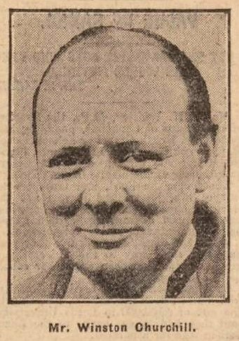 Winston Churchill - Leeds Mercury - 30 September 1927