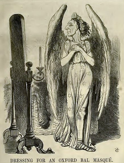 caricature of Benjamin Disraeli - Punch - 10 December 1864