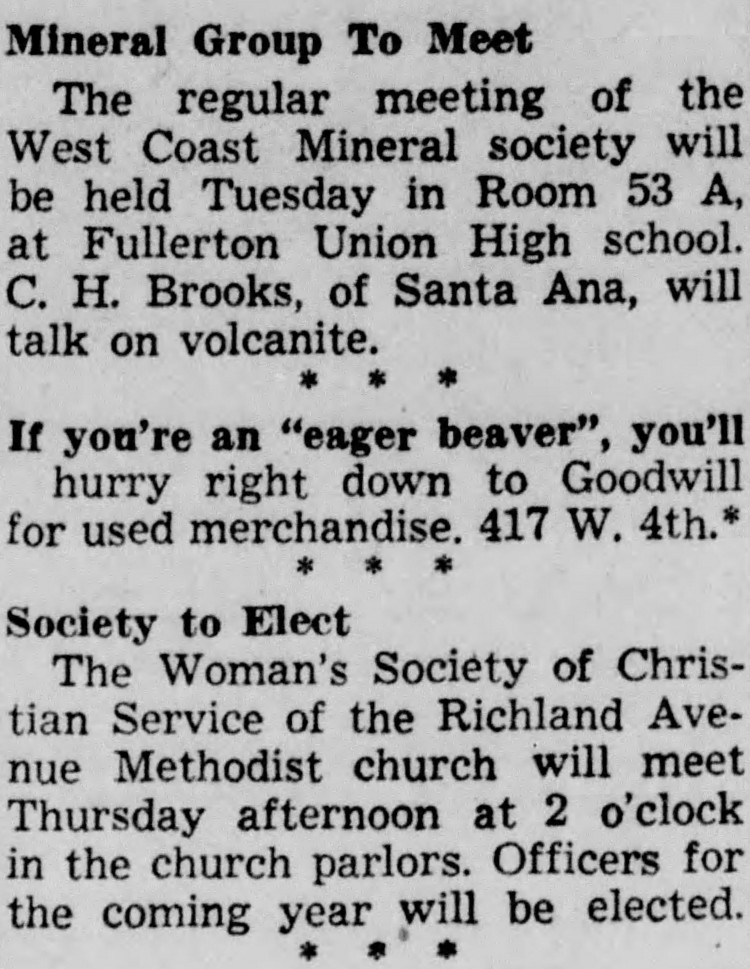 eager beaver - Santa Ana Register - 30 Nov. 1942