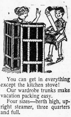 everything except the kitchen stove - Brooklyn Daily Eagle - 17 June 1915