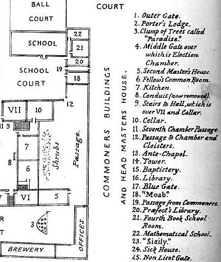 Moab - School-life at Winchester College (1866)