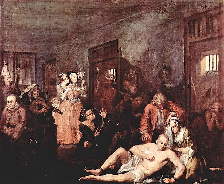 A Rake's Progress (1735) - William Hogarth