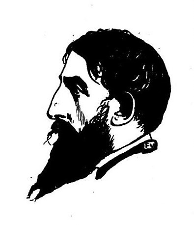 Jehan Rictus by Félix Vallotton