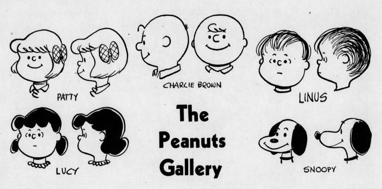 The Peanuts Gallery – The Pittsburgh Press – 27 May 1956