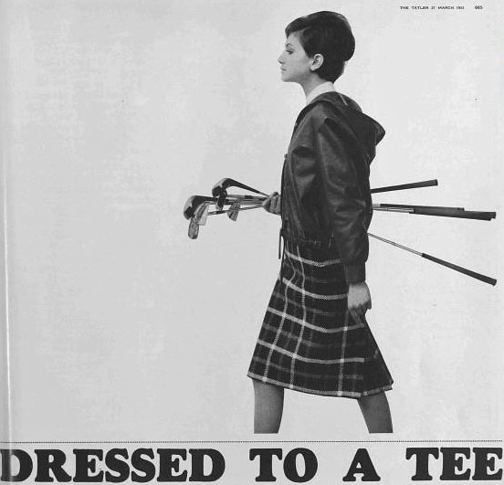 dressed to a tee - Tatler - 27 March 1963