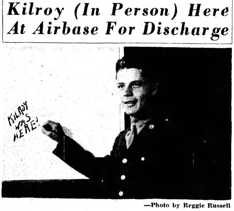 Sgt Francis J. Kilroy - Tucson Daily Citizen - 8 Nov 1945