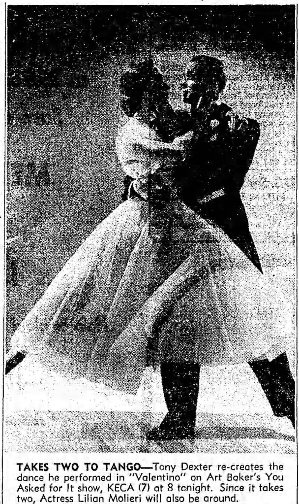 takes two to tango - Los Angeles Times - 24 November 1952
