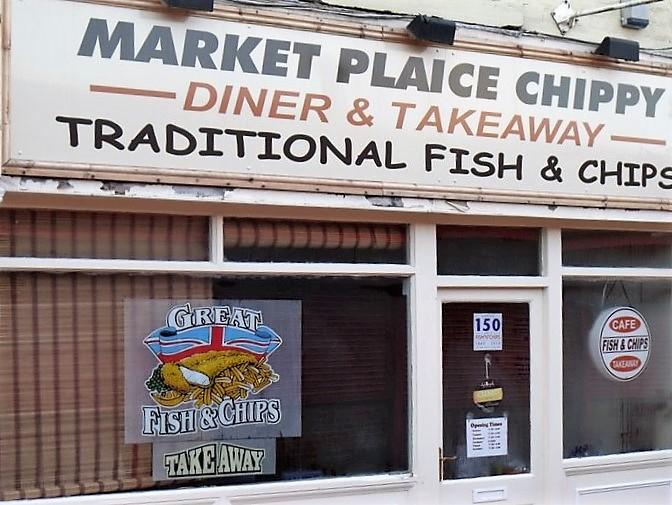 Market Plaice - chippy - Lancashire