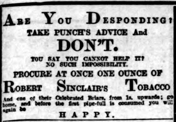 'take Punch's advice and don't' - The Evening Chronicle (Newcastle upon Tyne, Northumberland, England) - 23 January 1901