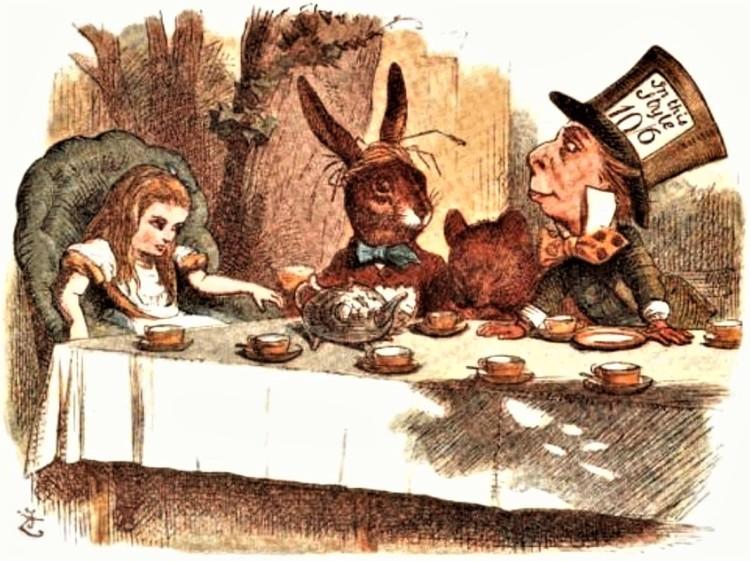 The Mad Tea-Party - The Nursery Alice (1889)