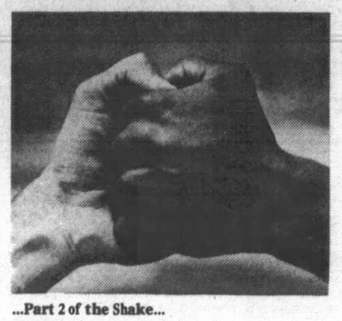 handshake 2 - Albuquerque Journal (Albuquerque, New Mexico) - 23 November 1980