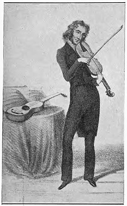 Niccolò Paganini (1782-1840) - The Sphere (London, England) - 18 January 1930