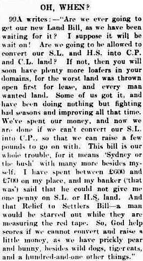Sydney or the bush - Sydney Stock and Station Journal (New South Wales) - 17 January 1902