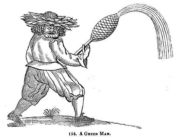 A Green Man - The Sports and Pastimes of the People of England (1838)