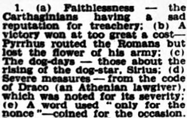 Punic faith 2 – Birmingham Post – 24 December 1958