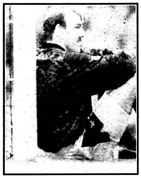 Neville Southall sitting on the goalmouth - What a big girl's blouse! - Liverpool Echo - 28 August 1990
