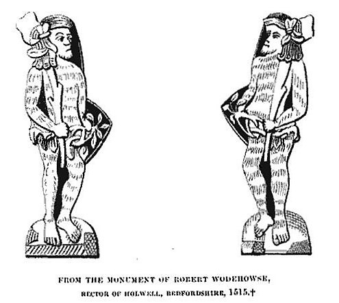 woodwards - engravings from the monument of Robert Wodehowse - Some Account of the Worshipful Company of Ironmongers (1866) - John Nicholl