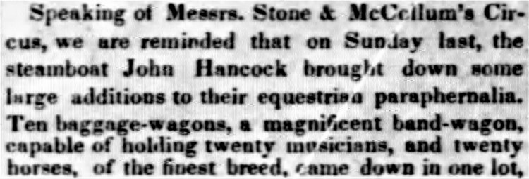 bandwagon - New Orleans Weekly Delta - 15 February 1847