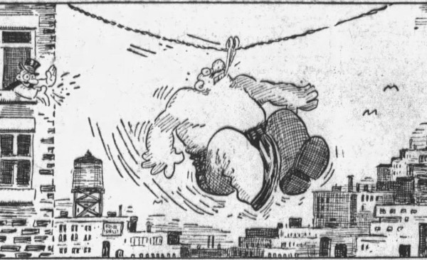 'glass jaw' Barney Google 2 - San Francisco Examiner (San Francisco, California) - 8 February 1933