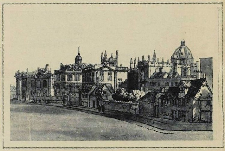 The sweet city of the dreaming spires in the eighteenth century - Illustrated London News (London) - 28 January 1922