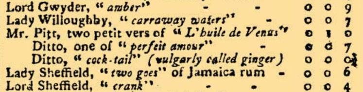 detail from 'Old Scores' - The Morning Post and Gazetteer (London, England) - 20 March 1798